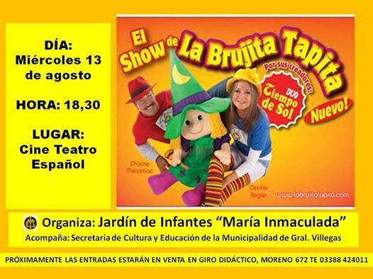 EL SHOW DE LA BRUJITA TAPITA